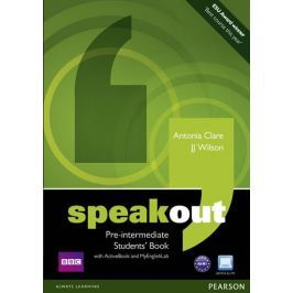Wilson J. J.: Speakout Pre-Intermediate Students´ Book with DVD/Active book and MyLab Pack