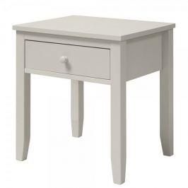 Danish Style Noční stolek se zásuvkou Valja, 48 cm, šedá