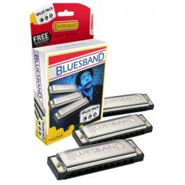 Hohner Blues Band ValuePack (C-, G-, A-major) Sada foukacích harmonik