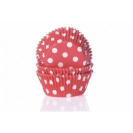House of Marie Košíčky na muffiny 50ks červené s puntíky