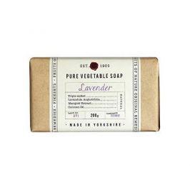 Fikkerts Hydratační rostlinné mýdlo Levandule (Pure Vegetable Soap) 200 g