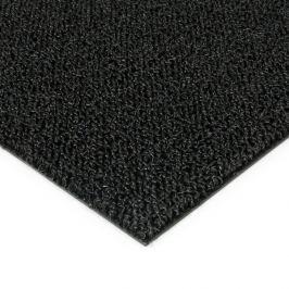 FLOMAT Černá plastová zátěžová venkovní vnitřní vstupní čistící zóna Rita - 50 x 100 x 1 cm