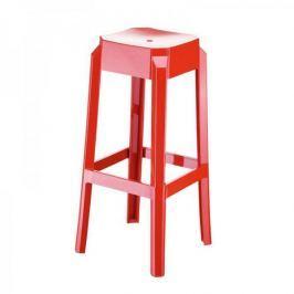 BHM Germany Barová židle Logre, lesklá červená