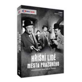 Hříšní lidé Města pražského (4DVD - remasterovaná verze)   - DVD