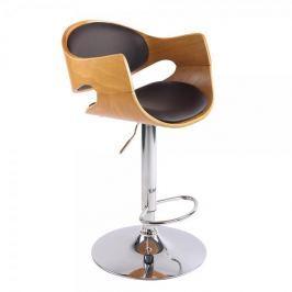 BHM Germany Barová židle Allia, hnědá