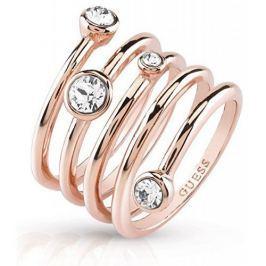 Guess Luxusní spirálovitý prsten UBR84057 (Obvod 52 mm)