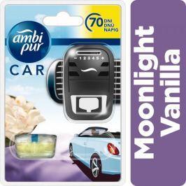 Ambi Pur Car Moonlight Vanilla Osvěžovač ve startovací sadě 7 ml