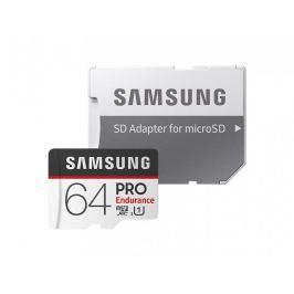 Samsung micro SDHC 64GB PRO Endurance + SD adaptér (MB-MJ64GA/EU)