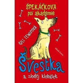 Lewisová Gill: Špekáčkova psí akademie - Švestka a zloděj klobásek