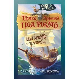 Carlsonová Caroline: Téměř ctihodná liga pirátů 1 - Poklad čarodějky ze severu
