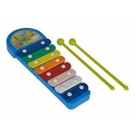 Simba MMW Xylofon modrý 8 kovových kláves