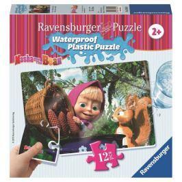 Ravensburger Máša a Medvěd 12 plast. dílků I