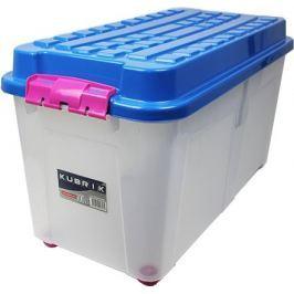 Heidrun Box Kubrik 100 l, modrá/růžová