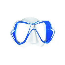 Mares Maska X-VISION LIQUID SKIN, bílá/modrá