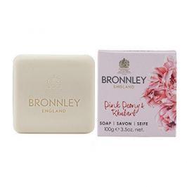 Bronnley Luxusní tuhé mýdlo Pivoňka a rebarbora (Soap) 100 g