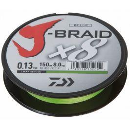 Daiwa Splétaná Šňůra J-Braid Chartreuse 300 m 0,16 mm, 9 kg