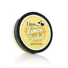 I Love Cosmetics Vyživující tělové máslo s vůní citronového sorbetu ( Lemon Sorbet Nourishing Body Butter) 200 ml