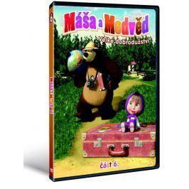 Máša a medvěd 6: Velké dobrodružství   - DVD