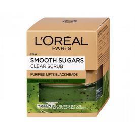 L'Oréal Čisticí peeling proti černým tečkám s obsahem semínek z kiwi (Smooth Sugars Clear Scrub) 50 ml