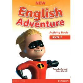 Worrall Anne: New English Adventure 2 Activity Book and Song CD Pack