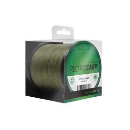 FIN Splétaná šňůra Record Carp 1000 m Zelená 0,26 mm, 26,4 lb