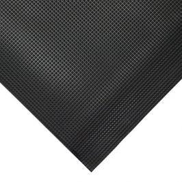 Černá gumová protiskluzová protiúnavová průmyslová rohož - 18,3 m x 90 cm x 1 cm