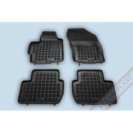 REZAW-PLAST Gumové koberce, sada 4 ks (2x přední, 2x zadní), Mitsubishi Outlander II, Peugeot 4007, Citroen C-Crosser