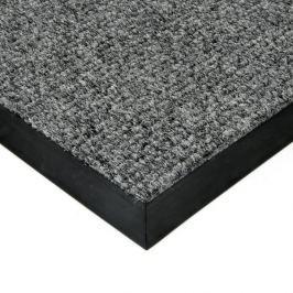 FLOMAT Šedá textilní zátěžová čistící rohož Catrine - 50 x 80 x 1,35 cm