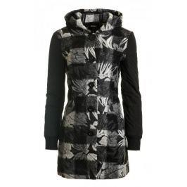 Desigual dámský kabát Nadia 36 šedá