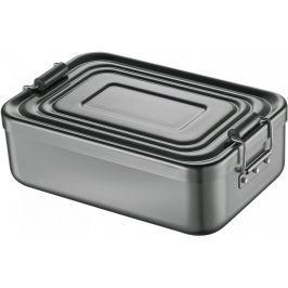 Küchenprofi Svačinový box s přepážkou, tmavě šedý
