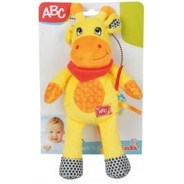 Simba Plyšové zvířátko s chrastítkem 26 cm, žirafa