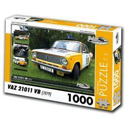 RETRO-AUTA© Puzzle č. 02 - VAZ 21011 VB (1979) 1000 dílků