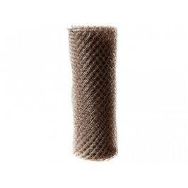 Čtyřhranné pletivo Zn+PVC (s ND) - výška 125 cm, hnědá, 25 m