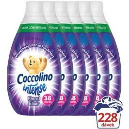 Coccolino Intense Floral Elixir aviváž 6 x 570 ml (228 praní)