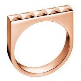Calvin Klein Bronzový prsten Edge KJ3CPR1001 (Obvod 52 mm)