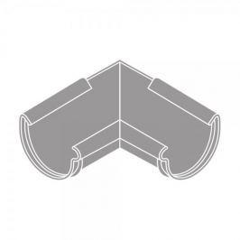 LanitPlast Roh vnitřní RG 100 půlkulatý šedá barva
