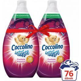 Coccolino Intense Fuchsia Passion aviváž 2 x 570 ml (76 praní)