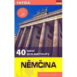 Klatt Wolfram: Němčina - 40 lekcí pro samouky + 2 CD