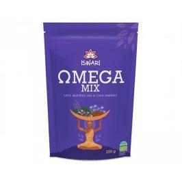 Iswari BIO Omega Mix (směs mletých semínek chia, hnědý len) 250 g