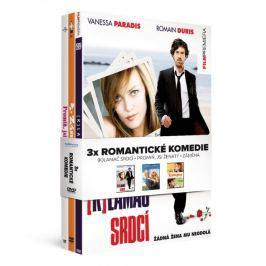 3x Romantická komedie: (K)lamač srdcí + Promiň, jsi ženatý + Záměna (3DVD)   - DVD