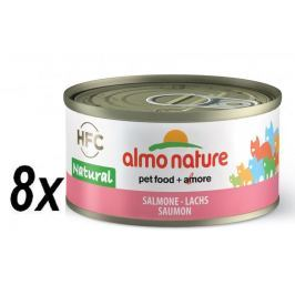 Almo Nature HFC CAT Losos 8 x 70g