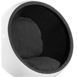 Mørtens Furniture Otočné křeslo Sphere, černá