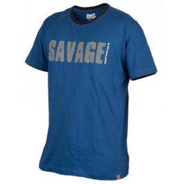 Savage Gear Triko Simply Savage Tee Blue S
