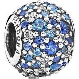 Pandora Korálek s modrými krystaly 791261NSBMX stříbro 925/1000