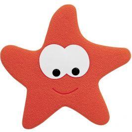 Spirella Bezpečnostní dekorace do vany STARFY red, 5 ks