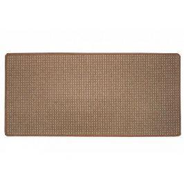 Hnědý kusový koberec Birmingham 80x150 cm