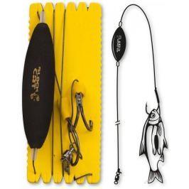 Black Cat Sumcový Návazec U Float Ghost Rig 100 kg 180 cm 6/0