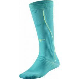Mizuno Compression Socks/TileBlue Safety Y L