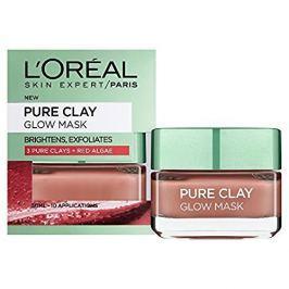 L'Oréal Exfoliační vyhlazující maska Pure Clay (Glow Mask) 50 ml