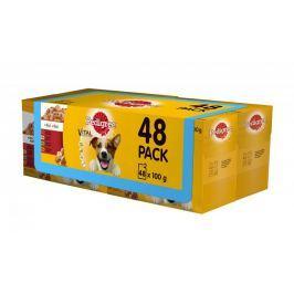 Pedigree kapsičky Adult 4 x 12 pack